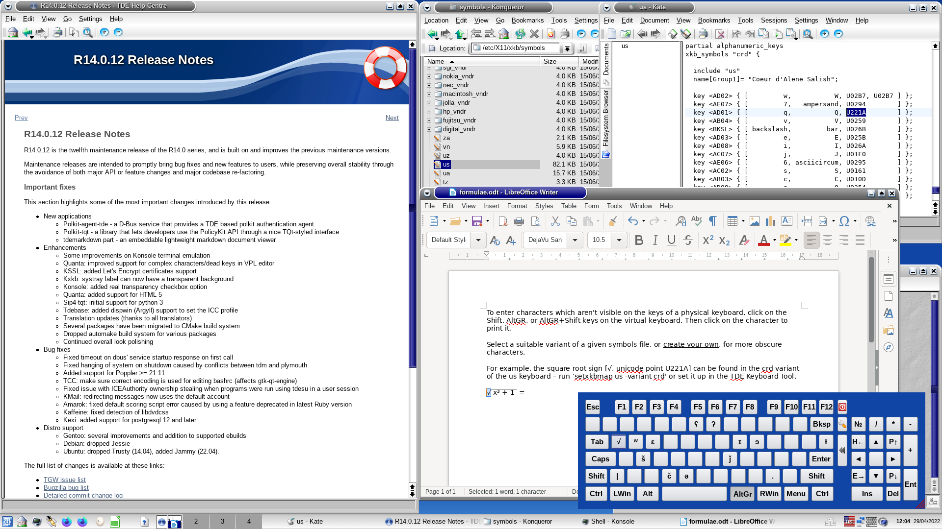 Cross compile Trinity Desktop Environment [TDE] for the Raspberry Pi3